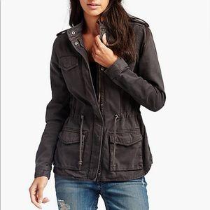Lucky Brand charcoal grey utility jacket